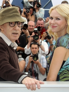 Director Woody Allen and star Naomi Watts at the premiere of &#8216;You Will Meet A Tall, Dark Stranger&#8217; at the 63rd Annual Cannes Film Festival in Cannes, France, on May 15, 2010