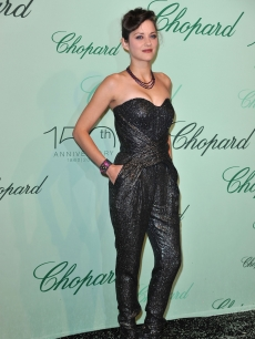 Marion Cotillard attends the Chopard 150th Anniversary Party at Palm Beach, Pointe Croisette during the 63rd Annual Cannes Film Festival on May 17, 2010