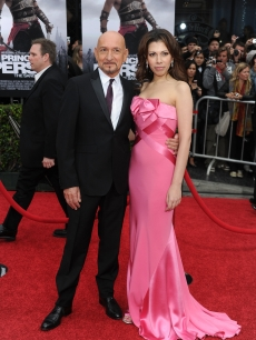 Sir Ben Kingsley and Daniela Lavender arrive at the premiere of Walt Disney Pictures' 'Prince Of Persia: The Sands Of Time' held at Grauman''s Chinese Theatre, LA, May 17, 2010