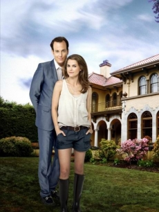 "Will Arnett and Keri Russell from FOX's ""Running Wilde"""