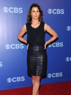 Bridget Moynahan attends the 2010 CBS UpFront at Damrosch Park, Lincoln Center, NYC, May 19, 2010