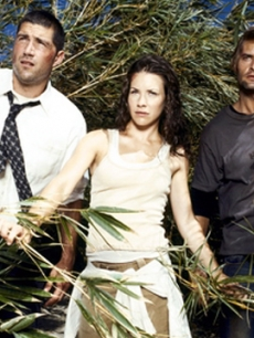 Matthew Fox, Evangeline Lilly, and Josh Holloway on &#8216;Lost&#8217;