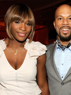 Serena Williams and Common in March 2010