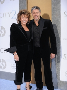 Max Ryan and mom Lynette Ryan attend the 'Sex and The City 2' premiere, Radio City Music Hall, NYC, May 24, 2010