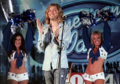 Casey James appears at a concert in Fort Worth, Texas, May 14, 2010