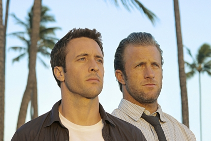 Alex O'Loughlin and Scott Caan in 'Hawaii Five-0'
