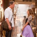 Aidan (John Corbett) and Carrie (Sarah Jessica Parker) meet in Abu Dhabi in 'Sex and the City 2'