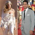 Sarah Jessica Parker as Carrie Bradshaw in 'Sex and The City 2,' Raza Jaffrey at the London premiere of the film, May 2010