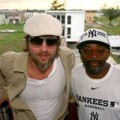 USA Bid Committee members Brad Pitt and Spike Lee over Memorial Day Weekend 2010