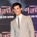Taylor Lautner is seen at the 'Twilight Saga: Eclipse' press conference at Shilla Hotel in Seoul, South Korea on June 3, 2010