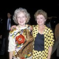 'Golden Girls' stars Betty White and Rue McClanahan attend the 'Gorillas in the Mist' LA premiere on September 19, 1988