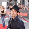 Adrien Brody poses for the camera at the premiere of 20th Century Fox's 'The A-Team' at the Grauman's Chinese Theatre in Los Angeles on June 3, 2010
