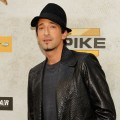 Adrien Brody arrives at Spike TV's 4th Annual Guy's Choice Awards in LA on June 5, 2010