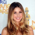 Whitney Port smiles at the  2010 MTV Movie Awards at Gibson Ampitheatre in Universal City, Calif., on June 6, 2010