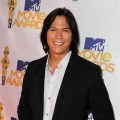 'Twilight Saga' star Chaske Spencer smiles wide for the camera at the MTV Movie Awards at the Gibson Amphitheatre at Universal Studios in Universal City, Calif. on June 6, 2010