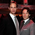 Alexander Skarsgard and Stephen Moyer attend the after party for HBO's 'True Blood' Season 3 premiere held at ArcLight Cinemas Cinerama Dome in Hollywood, California on June 8, 2010