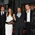 Bradley Cooper, Jessica Biel, Sharlto Copley, Liam Neeson, and Quinton 'Rampage' Jackson arrive at the premiere of 20th Century Fox's 'The A-Team' held at Grauman's Chinese Theatre on June 3, 2010 in Los Angeles, California.