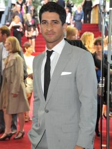 Raza Jaffrey (who plays Carrie's Butler, Garau) attends the UK premiere of 'Sex And The City 2' at Odeon Leicester Square, London, May 27, 2010
