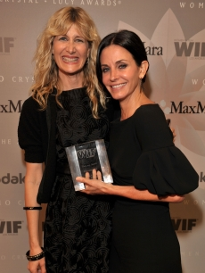 Laura Dern and Courteney Cox