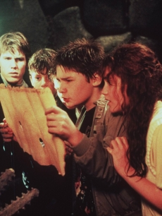 Josh Brolin, Sean Astin, Martha Plimpton, Corey Feldman and Kerri Green in 'The Goonies'