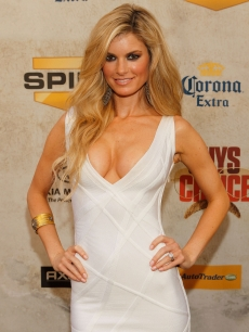 Marisa Miller steps out at Spike TV&#8217;s 4th Annual Guy&#8217;s Choice Awards in LA on June 5, 2010