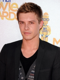 Xavier Samuel arrives at the 2010 MTV Movie Awards held at the Gibson Amphitheatre at Universal Studios in Universal City, California on June 6, 2010