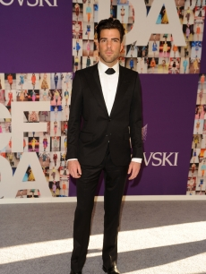 Zachary Quinto attends the 2010 CFDA Fashion Awards at Alice Tully Hall at Lincoln Center, NYC, June 7, 2010