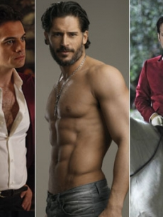 'True Blood' stars Theo Alexander, Joe Manganiello and Denis O'Hare