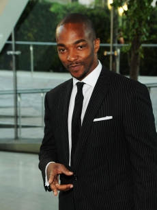 Anthony Mackie is all smiles at the CFDA Fashion Awards at Alice Tully Hall, Lincoln Center in New York City on June 7, 2010