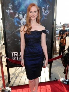 Deborah Ann Woll arrives at HBO's 'True Blood' Season 3 premiere held at ArcLight Cinemas Cinerama Dome in Hollywood, California on June 8, 2010