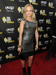 Mena Suvari looks radiant on the red carpet at Logo&#8217;s 3rd annual &#8216;NewNowNext Awards&#8217; at The Edison in Los Angeles on June 8, 2010