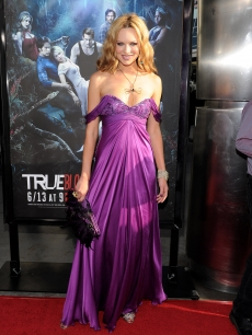 Natasha Alam arrives at the premiere of HBO&#8217;s &#8216;True Blood&#8217; Season 3 at The Cinerama Dome on June 8, 2010 in Hollywood, California.