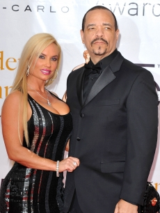 Ice-T and wife Coco arrive at the Closing Ceremony of the 2010 Monte Carlo Television Festival held at Grimaldi Forum, Monaco, June 10, 2010