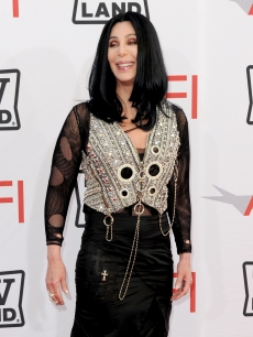 Cher arrives at the 38th AFI Life Achievement Award honoring Mike Nichols held at Sony Pictures Studios in Culver City, California on June 10, 2010