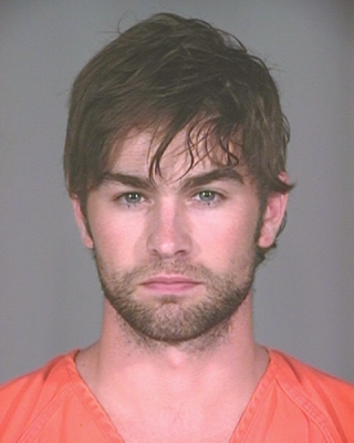 Chace Crawford's mug shot from his Plano, Texas arrest on June 4, 2010