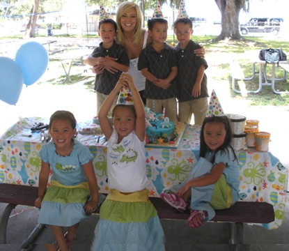 Kate Gosselin and the kids on 'Kate Plus 8'