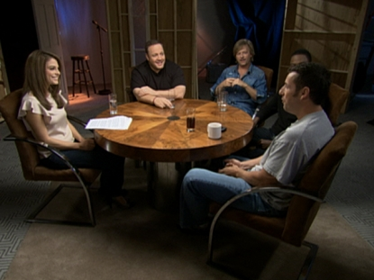 Adam Sandler and the 'Grown Ups' stars sit down with Maria Menounos