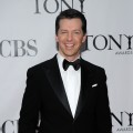 The dapper Sean Hayes at the 64th Annual Tony Awards at Radio City Music Hall in NYC on June 13, 2010