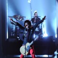 Billy Joe Armstrong of Green Day rocks the stage at the 64th Annual Tony Awards at Radio City Music Hall in New York City on June 13, 2010