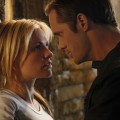 Anna Paquin as Sookie and Alexander Skarsgard as Eric on 'True Blood' Season 3
