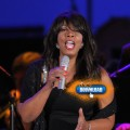 Inductee & singer Donna Summer performs at the Hollywood Bowl Opening Night Gala on June 18, 2009.