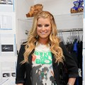 Jessica Simpson attends the jeanswear sneak-peak at the Jessica Simpson Jeanswear Showroom, NYC, June 22, 2010
