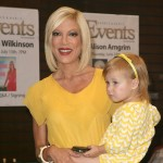 Tori Spelling and daughter Stella Doreen McDermott a book signing for 'Uncharted TerriTori' in Los Angeles, California on June 21, 2010