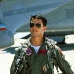 "Tom Cruise in ""Top Gun"""