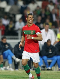 Superstar on and off the field, Portugal's forward and captain Cristiano Ronaldo is known not only for his fabulous football skills but also his hot body. Who could resist those beautiful biceps? Not Paris Hilton, that's for sure.