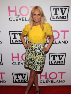 Kristin Chenoweth attends the 'Hot in Cleveland' premiere at the Crosby Street Hotel, NYC, June 14, 2010