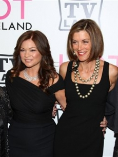 "Betty White, Valerie Bertinelli, Wendie Malick and Jane Leeves attend TV Land's special screening of ""Hot in Cleveland"" in New York City on June 14, 2010"