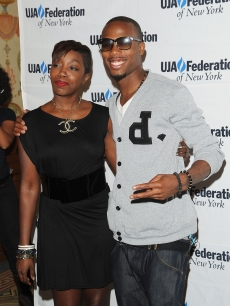 Estelle and B.o.B attend the UJA-Federation's 2010 Music Visionary of the Year award luncheon at The Pierre Ballroom, NYC, June 16, 2010