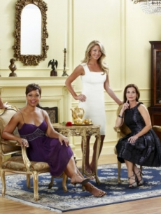 &#8216;The Real Housewives of D.C.&#8217; cast members Catherine Ommanney, Stacie Turner, Mary Amons, Lynda Erkiletian and Michaele Salahi pose at a publicity shoot for their upcoming Bravo show.