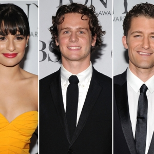 2010 Tony Awards: Lea Michelle, Jonathan Groff &amp; Matthew Morrison Talk &#8216;Glee&#8217;